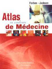 Couverture de l'ouvrage Atlas en couleurs de médecine