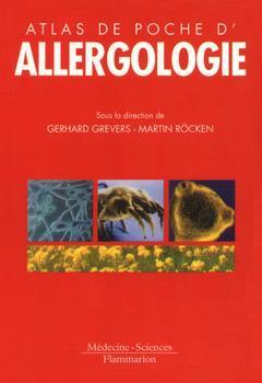 Couverture de l'ouvrage Atlas de poche d'allergologie