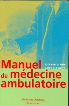 Couverture de l'ouvrage Manuel de médecine ambulatoire