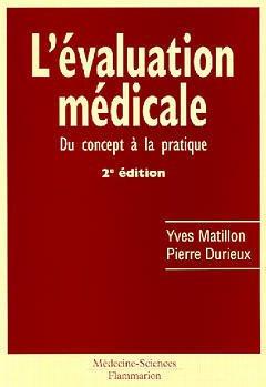 Couverture de l'ouvrage L'évaluation médicale