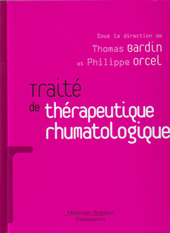 Couverture de l'ouvrage Traité de thérapeutique rhumatologique