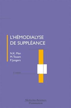 Couverture de l'ouvrage L'hémodialyse de suppléance
