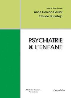 Couverture de l'ouvrage Psychiatrie de l'enfant