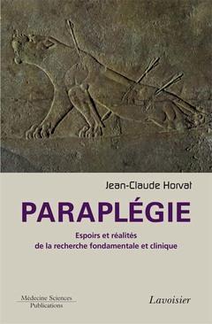 Couverture de l'ouvrage Paraplégie