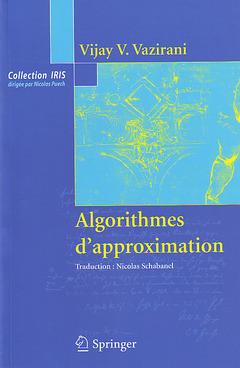 Couverture de l'ouvrage Algorithmes d'approximation