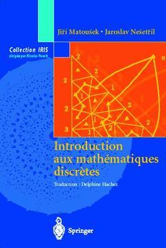 Couverture de l'ouvrage Introduction aux mathématiques discrètes