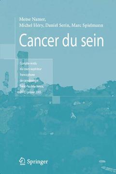 Couverture de l'ouvrage Cancer du sein