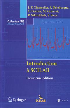 Couverture de l'ouvrage Introduction à SCILAB (2°Éd.)
