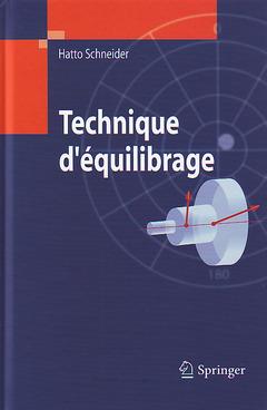 Couverture de l'ouvrage Technique d'équilibrage