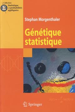 Couverture de l'ouvrage Génétique statistique