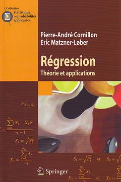 Couverture de l'ouvrage Régression : théorie et applications