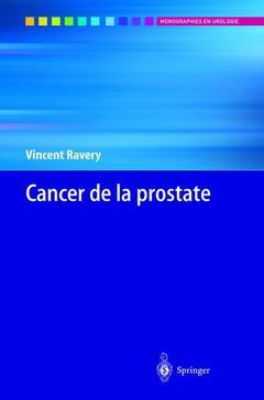 Couverture de l'ouvrage Cancer de la prostate