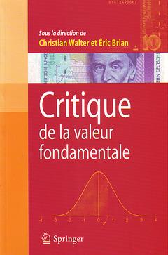 Couverture de l'ouvrage Critique de la valeur fondamentale