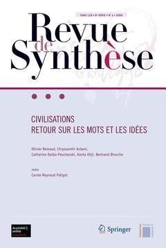 Couverture de l'ouvrage Civilisations retour sur les mots et les idées