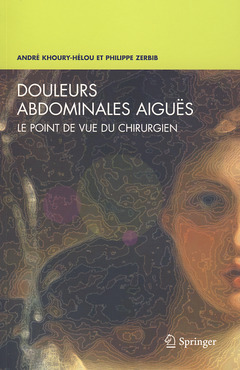 Cover of the book Douleurs abdominales aiguës