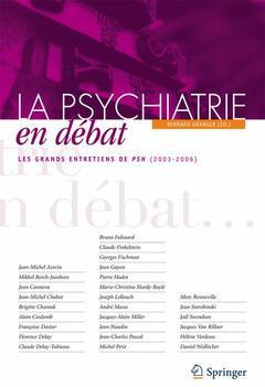 Couverture de l'ouvrage La psychiatrie en débats