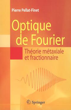 Couverture de l'ouvrage Optique de Fourier