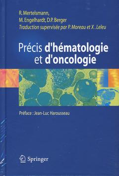Couverture de l'ouvrage Précis d'hématologie et d'oncologie