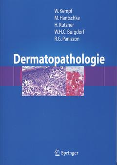 Couverture de l'ouvrage Dermatopathologie