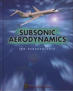 Couverture de l'ouvrage Subsonic aerodynamics