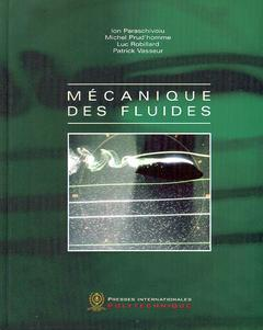 Couverture de l'ouvrage Mécanique des fluides