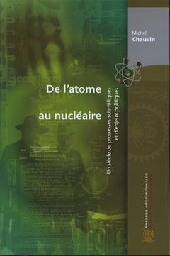 Couverture de l'ouvrage De l'atome au nucléaire