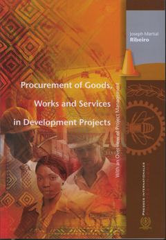 Couverture de l'ouvrage Procurement of Goods, Works and Services in Development Projects, With an Overview of Project Management