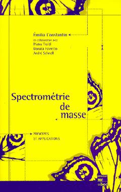 Couverture de l'ouvrage Spectrométrie de masse