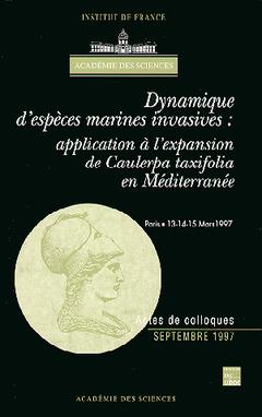 Couverture de l'ouvrage Dynamique d'espèces marines invasives