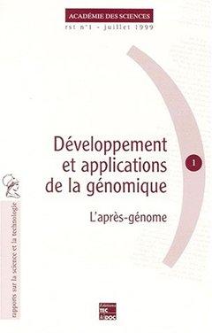 Couverture de l'ouvrage Développement et applications de la génomique