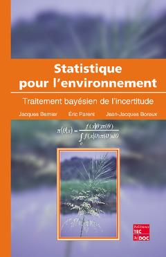 Couverture de l'ouvrage Statistique pour l'environnement