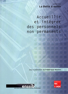 Couverture de l'ouvrage Accueillir et intégrer des personnels non permanents