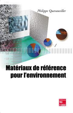 Couverture de l'ouvrage Matériaux de référence pour l'environnement