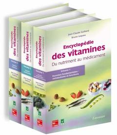 Couverture de l'ouvrage Encyclopédie des vitamines (3 vol. inséparables)