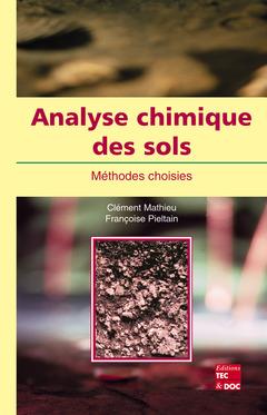 Couverture de l'ouvrage Analyse chimique des sols