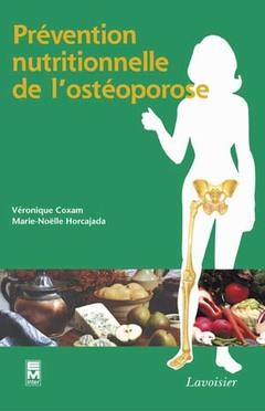 Couverture de l'ouvrage Prévention nutritionnelle de l'ostéoporose