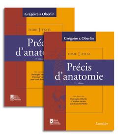 Couverture de l'ouvrage Précis d'anatomie Tome 1 (texte + atlas inséparables) 11° Ed.