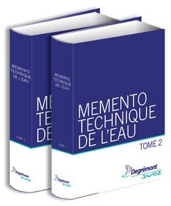 Couverture de l'ouvrage Mémento technique de l'eau (2 volumes inséparables, 10e éd.)