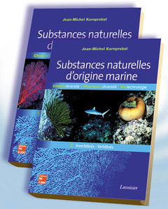 Couverture de l'ouvrage Substances naturelles d'origine marine (2 volumes inséparables)