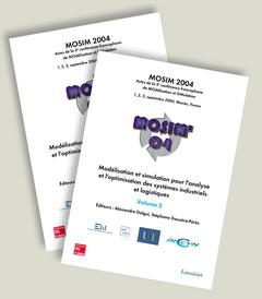 Couverture de l'ouvrage MOSIM 2004 : Modélisation et simulation pour l'analyse et l'optimisation des systèmes industriels et logistiques (actes, 1-3 septembre 2004, Nantes)