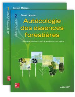 Couverture de l'ouvrage Autécologie des essences forestières (2 tomes inséparables)