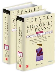 Couverture de l'ouvrage Cépages et vignobles de France Tome 3 : Les vignobles de France (volumes 1 et 2 ensemble)