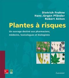 Couverture de l'ouvrage Plantes à risques