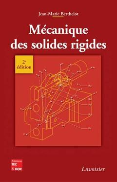 Couverture de l'ouvrage Mécanique des solides rigides