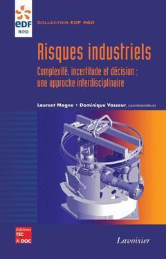 Couverture de l'ouvrage Risques industriels