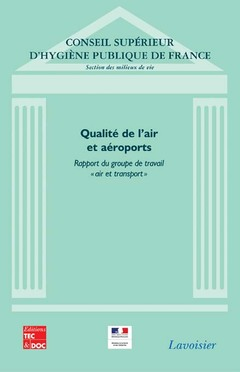 Cover of the book Qualité de l'air et aéroports.