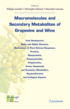 Couverture de l'ouvrage Macromolecules and Secondary Metabolites of Grapevine and Wine
