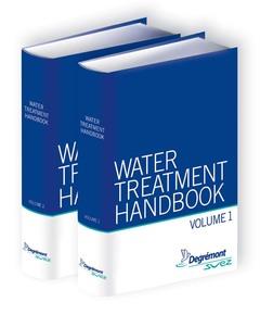Couverture de l'ouvrage Water Treatment Handbook (2 Volumes set, 7th Ed.)