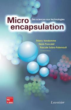 Couverture de l'ouvrage Microencapsulation