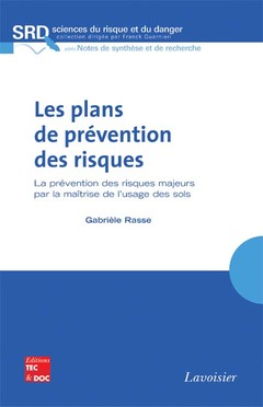 Couverture de l'ouvrage Les plans de prévention des risques